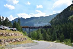Georgetown Rail Road, Outside Denver